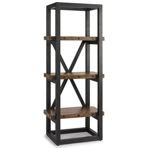 Industrial Side Pier/Bookcase