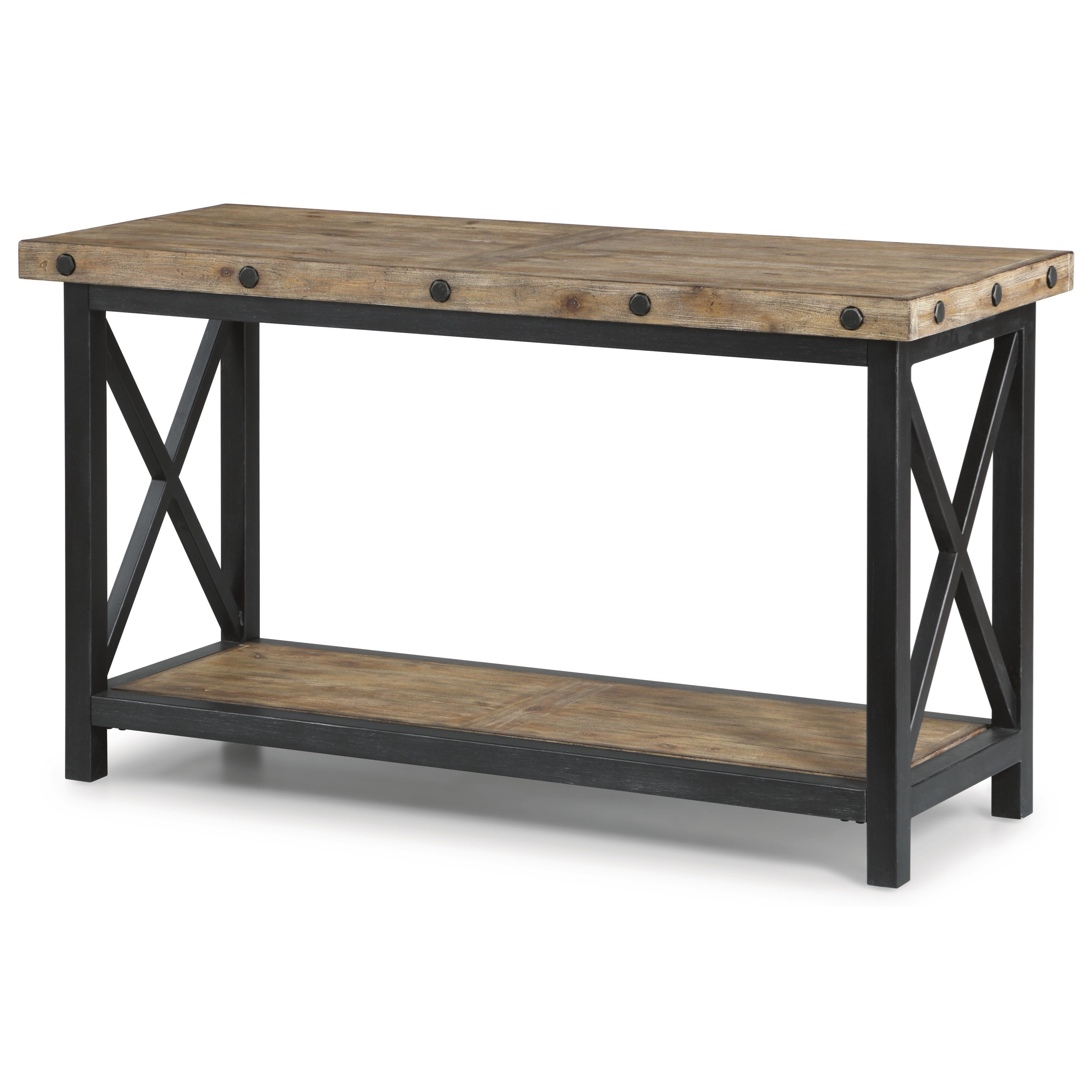 Carpenter Sofa Table by Flexsteel Wynwood Collection at Walker's Furniture