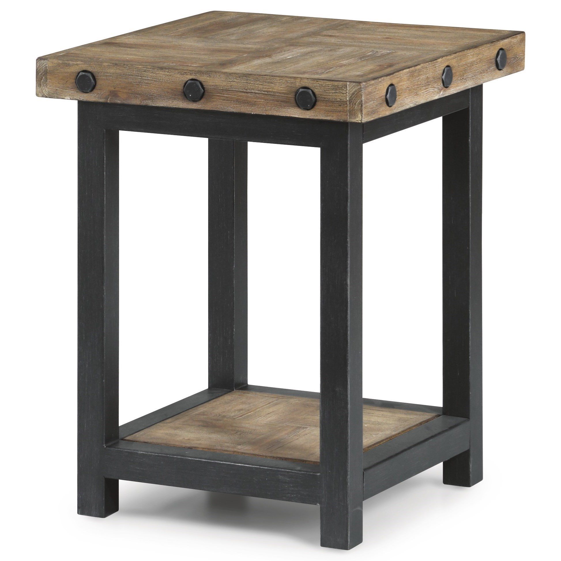 Hammermill Chair Side Table by Flexsteel at Crowley Furniture & Mattress