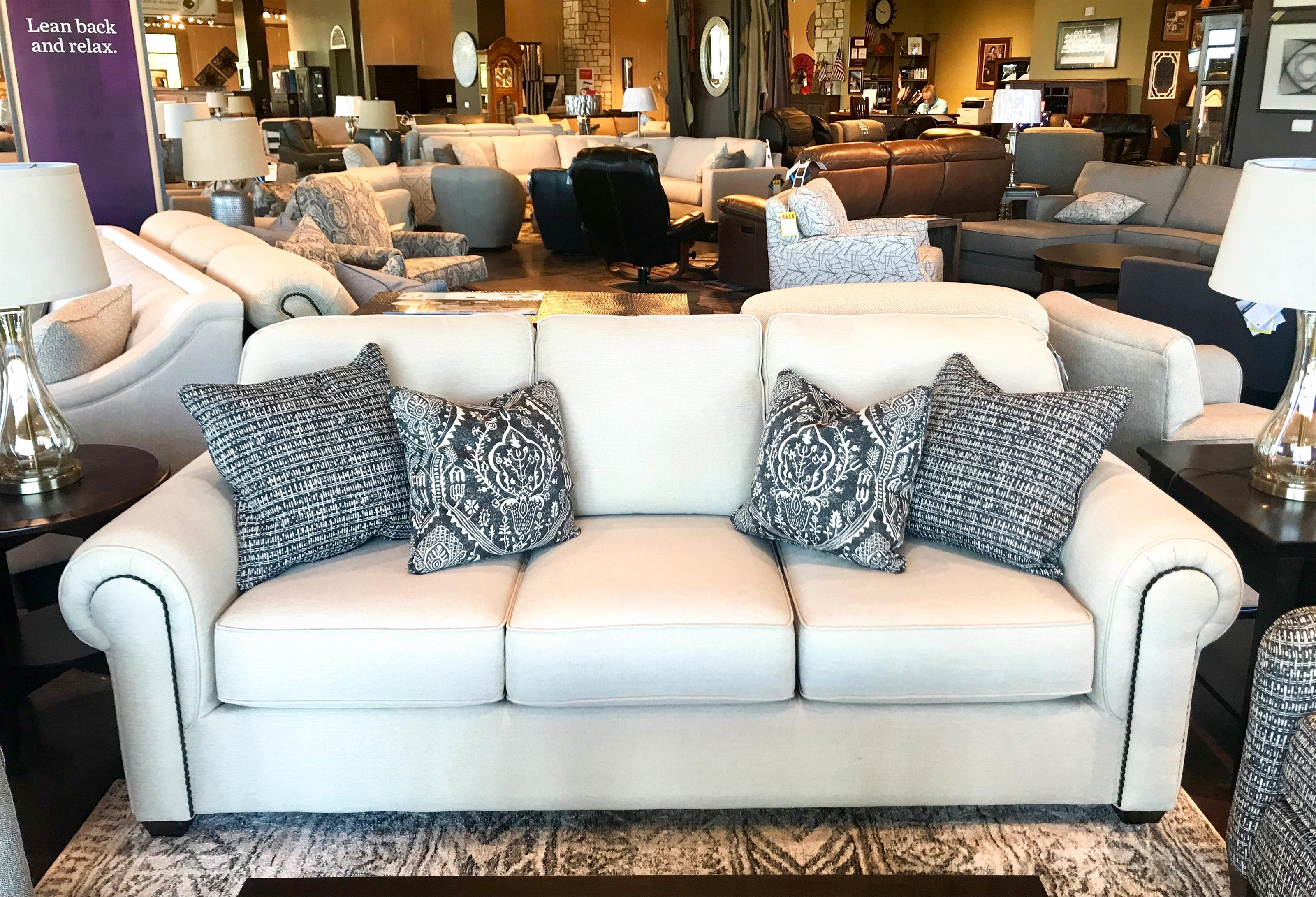 Carson Sofa  by Flexsteel at Mueller Furniture