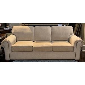 Customizable Sofa with Rolled Arms