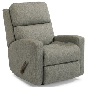 Contemporary Casual Rocking Recliner
