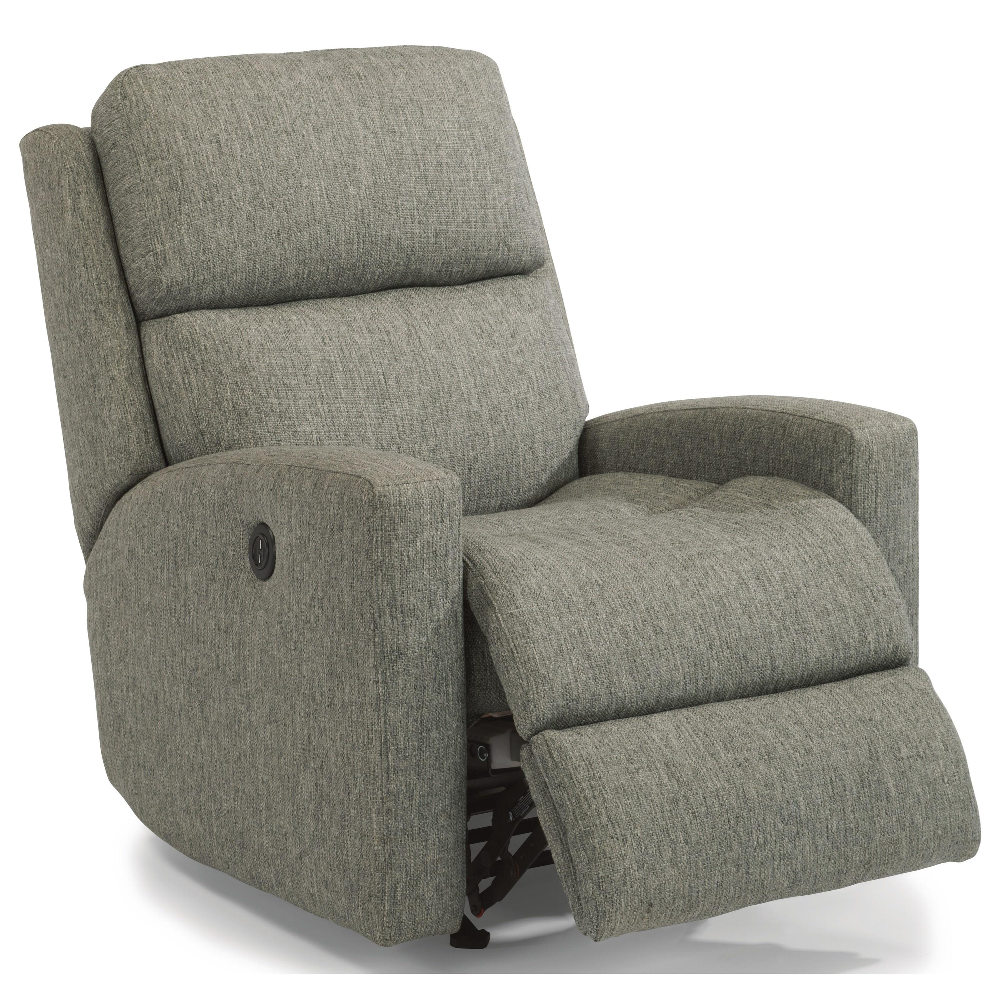 Catalina Power Rock Recliner w/ Pwr Headrest by Flexsteel at Steger's Furniture