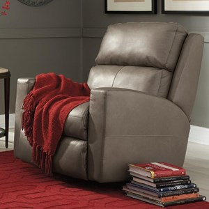 Contemporary Casual Swivel Glider Recliner