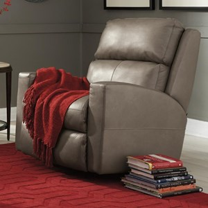 Contemporary Casual Power Rocking Recliner