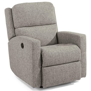 Transitional Power Recliner with USB Port