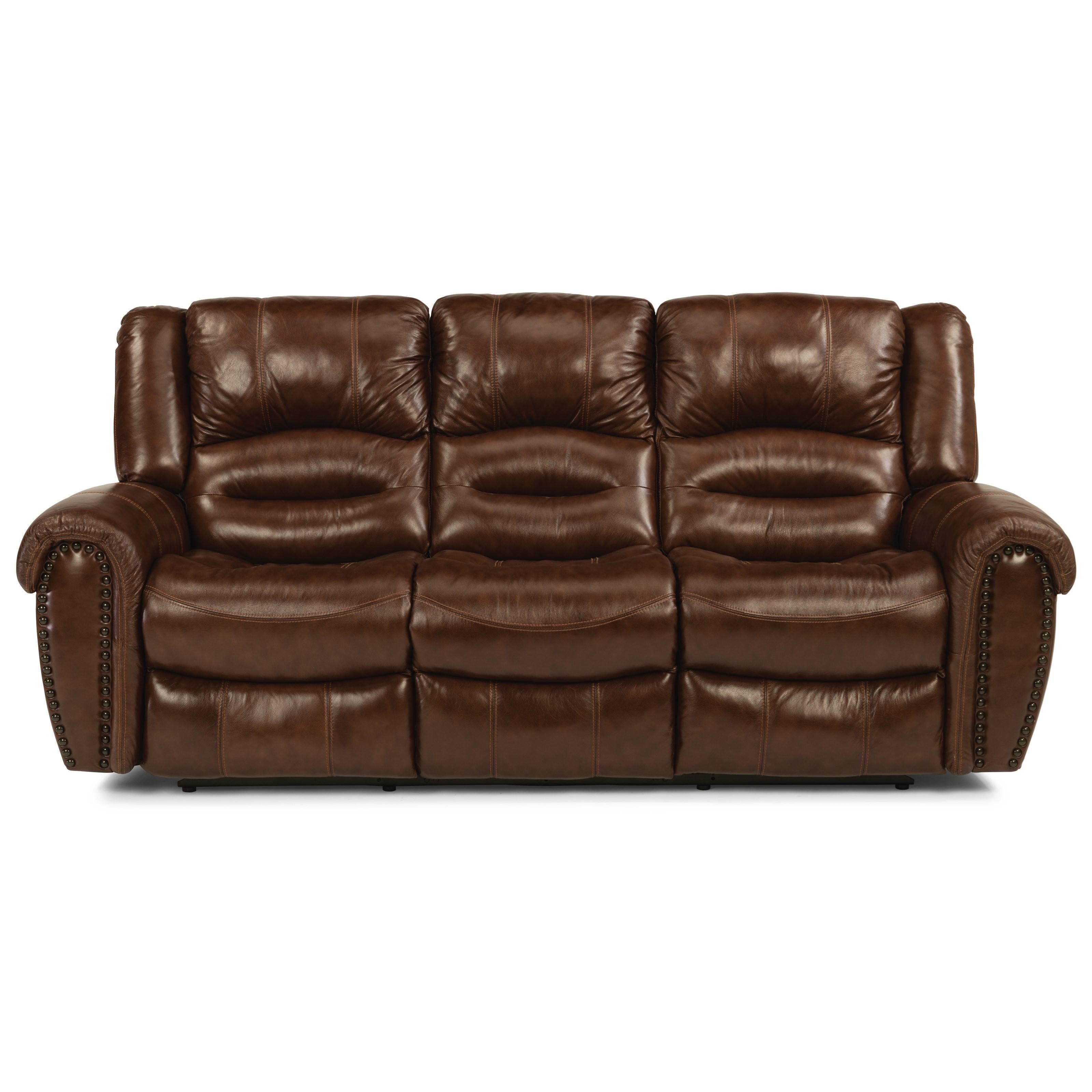 Latitudes - Town Reclining Sofa by Flexsteel at Walker's Furniture
