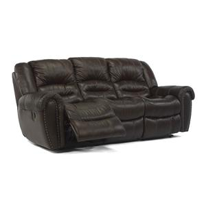 Flexsteel Latitudes - Crosstown Reclining Sofa