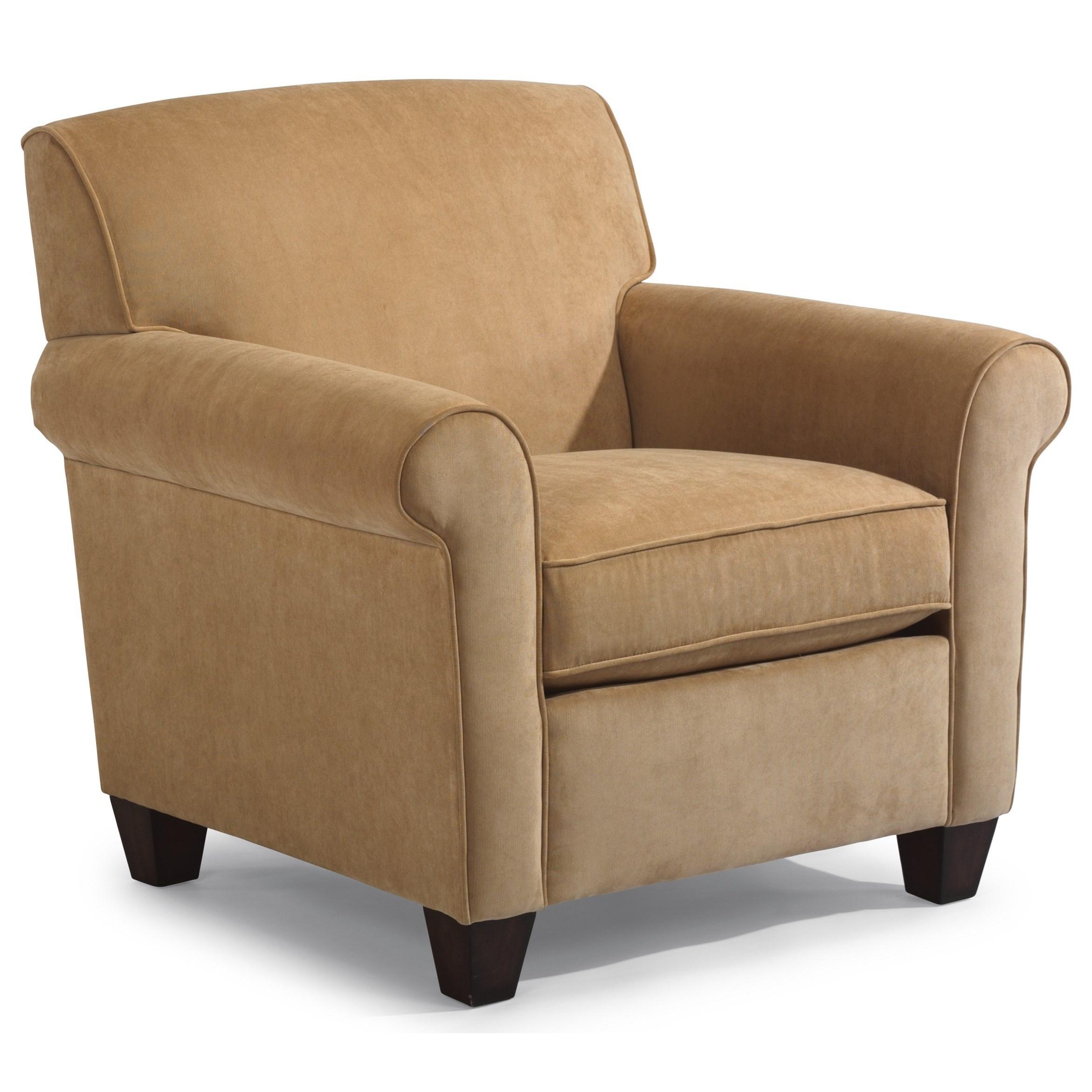 Dana Upholstered Chair by Flexsteel at Jordan's Home Furnishings