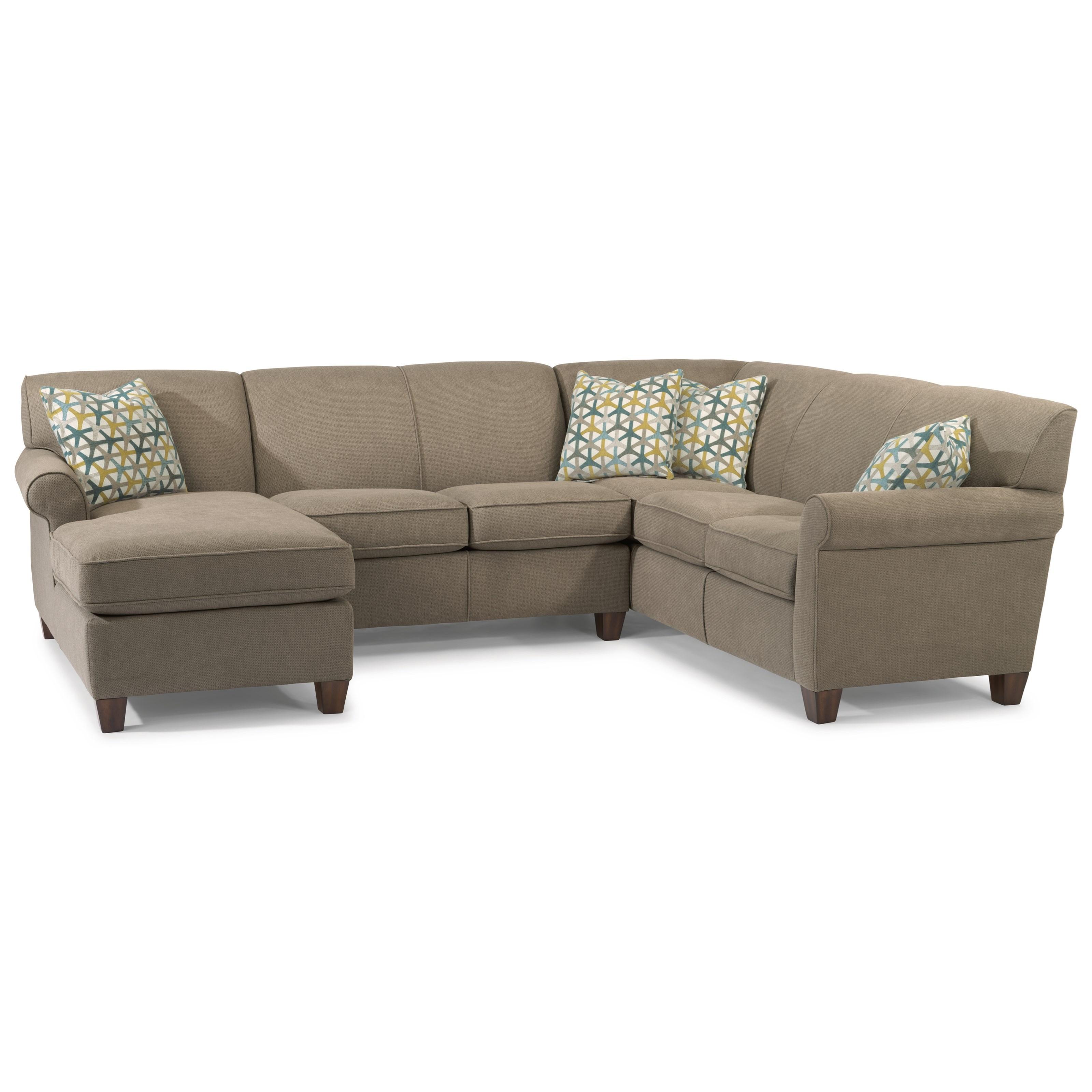 Dana 3-Piece Sectional by Flexsteel at Mueller Furniture