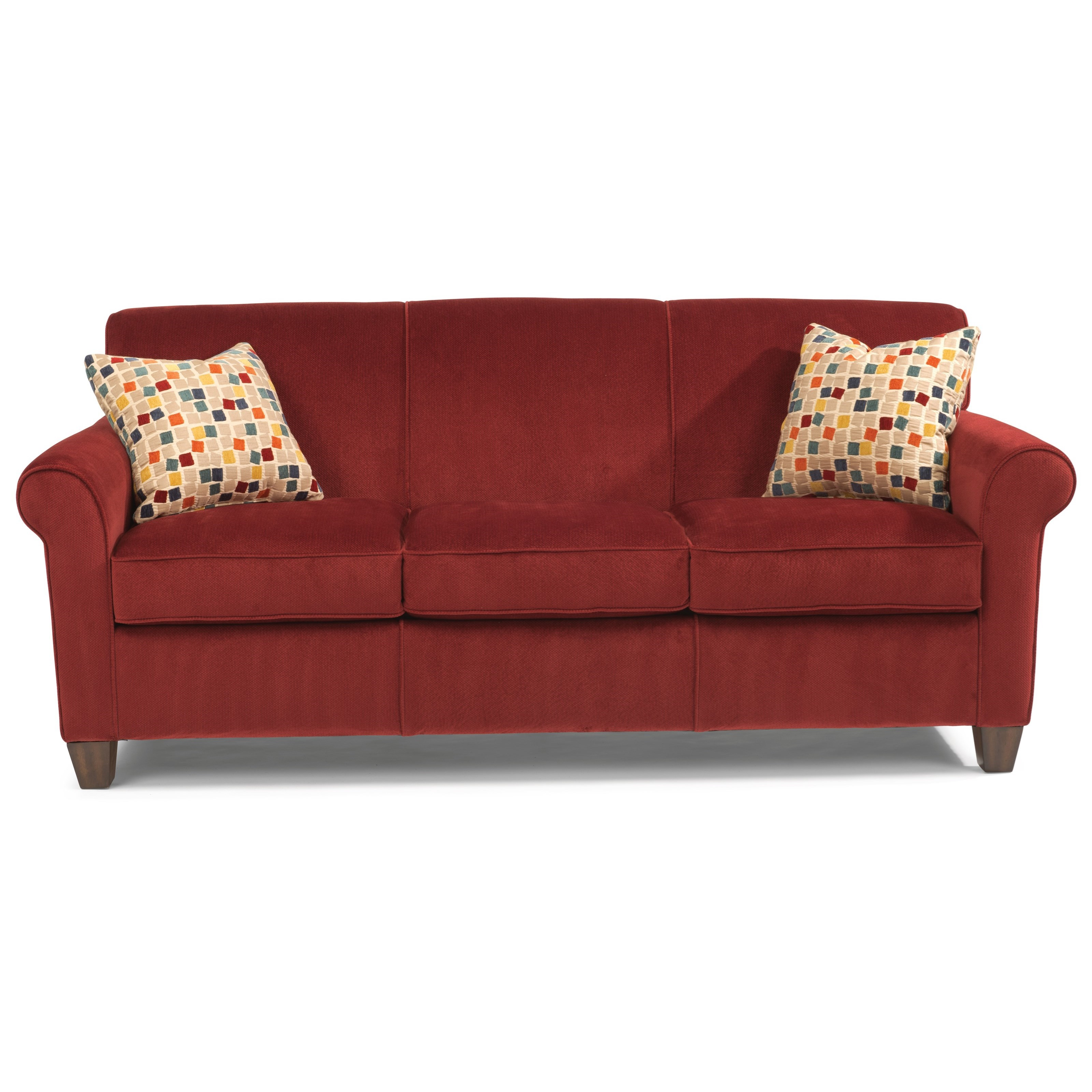 Dana Stationary Sofa by Flexsteel at Pilgrim Furniture City
