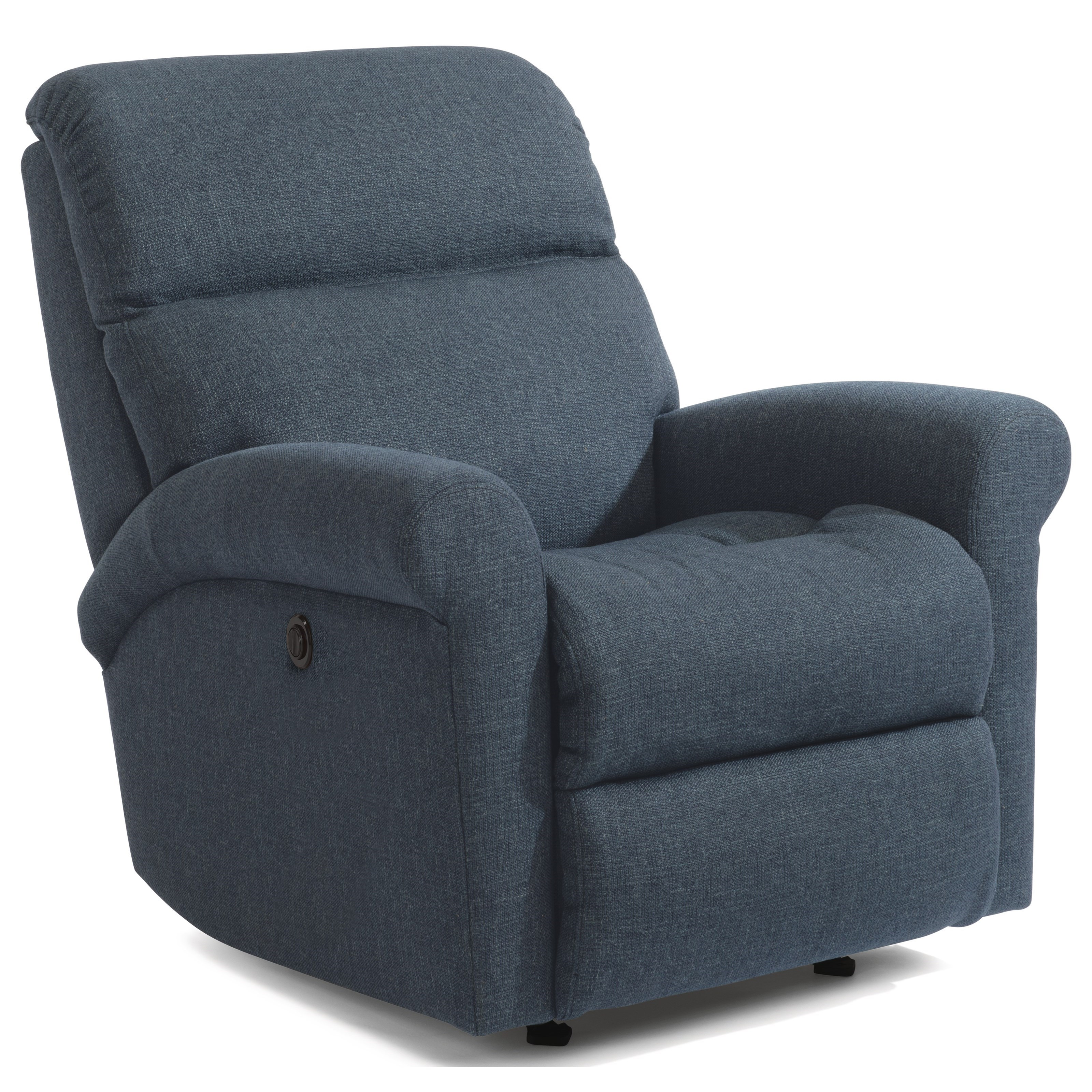 Davis Power Recliner with Power Headrest by Flexsteel at Mueller Furniture