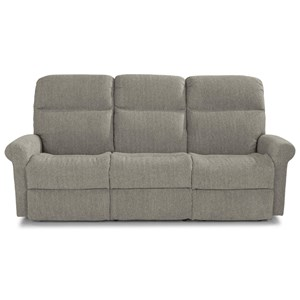 Casual Power Reclining Sofa with Power Headrests and USB Charging Ports