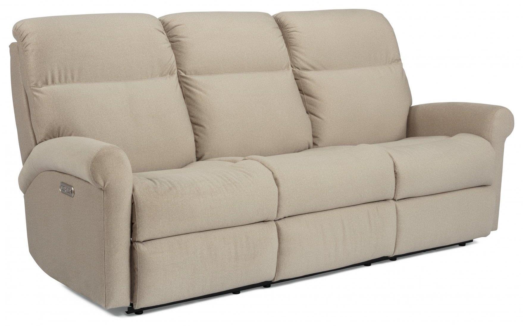 Davis POWER SOFA by Flexsteel at Value City Furniture