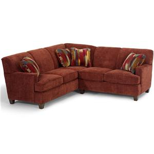 Flexsteel Dempsey 2 pc. Sectional Sofa