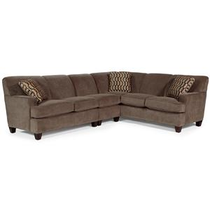Flexsteel Dempsey 3 pc. Sectional Sofa