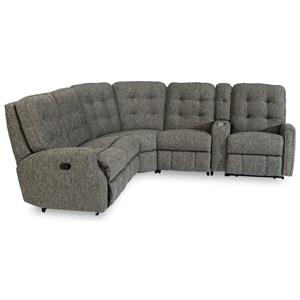 6-Piece Reclining Sectional
