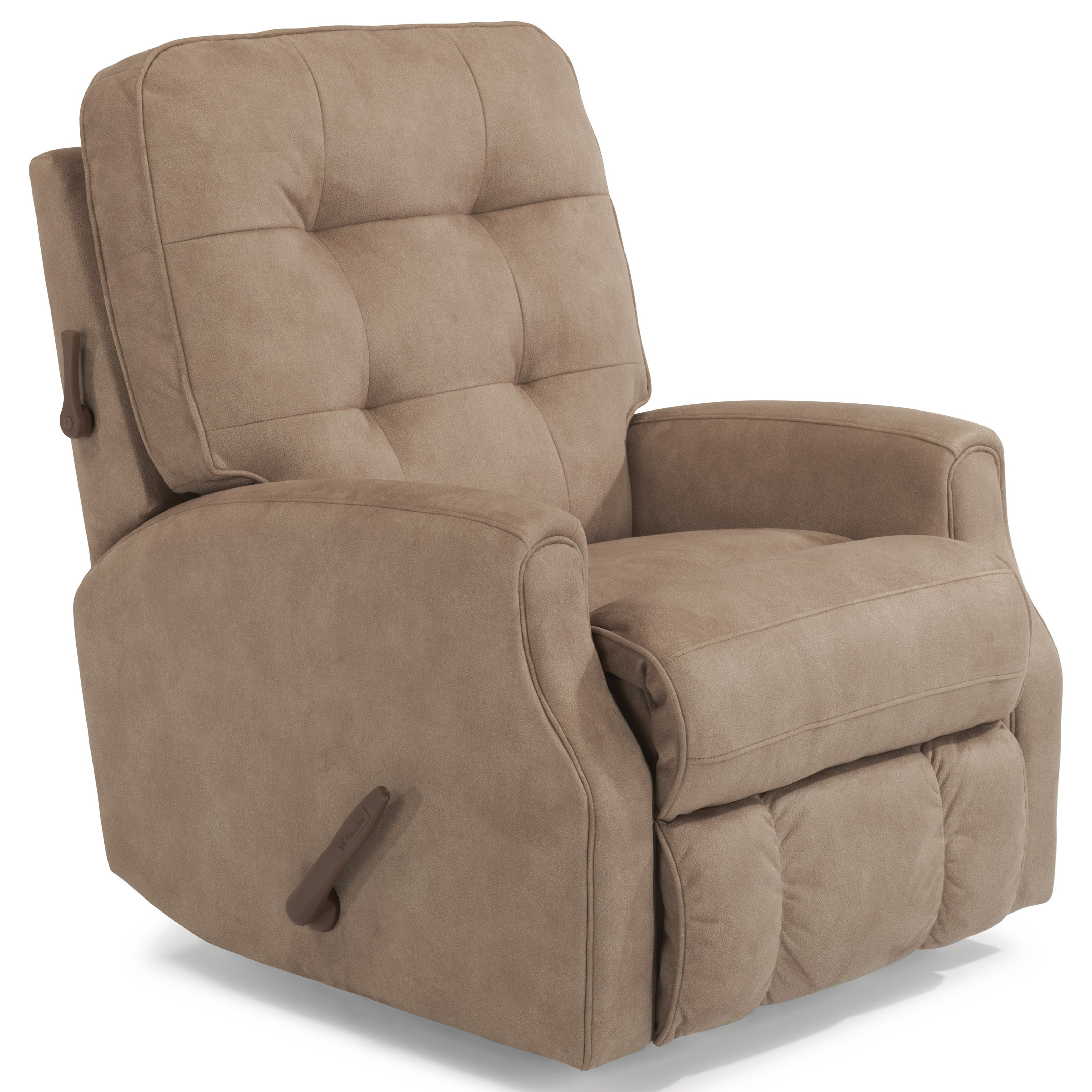 Devon Swivel Glider Recliner by Flexsteel at Jordan's Home Furnishings