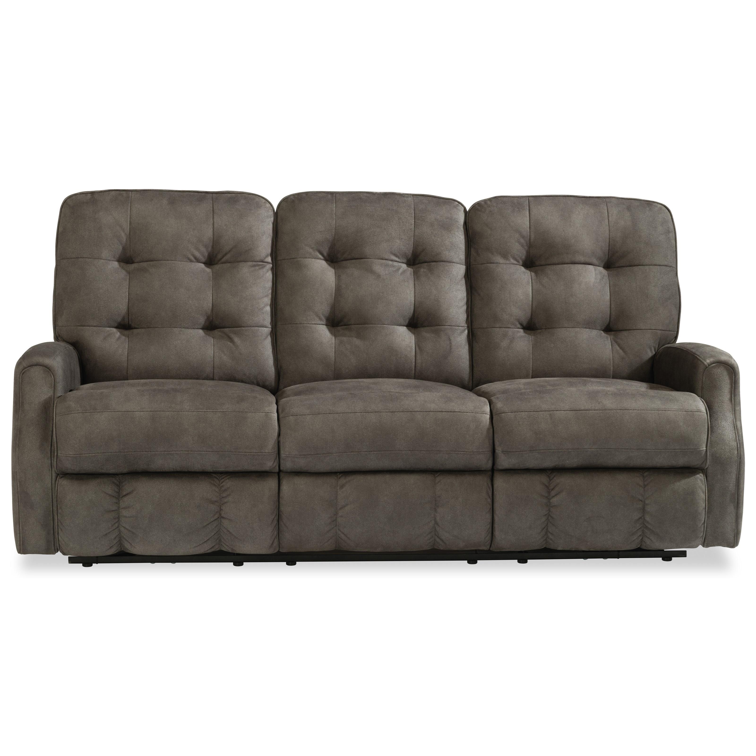 Devon Reclining Sofa  by Flexsteel at Steger's Furniture