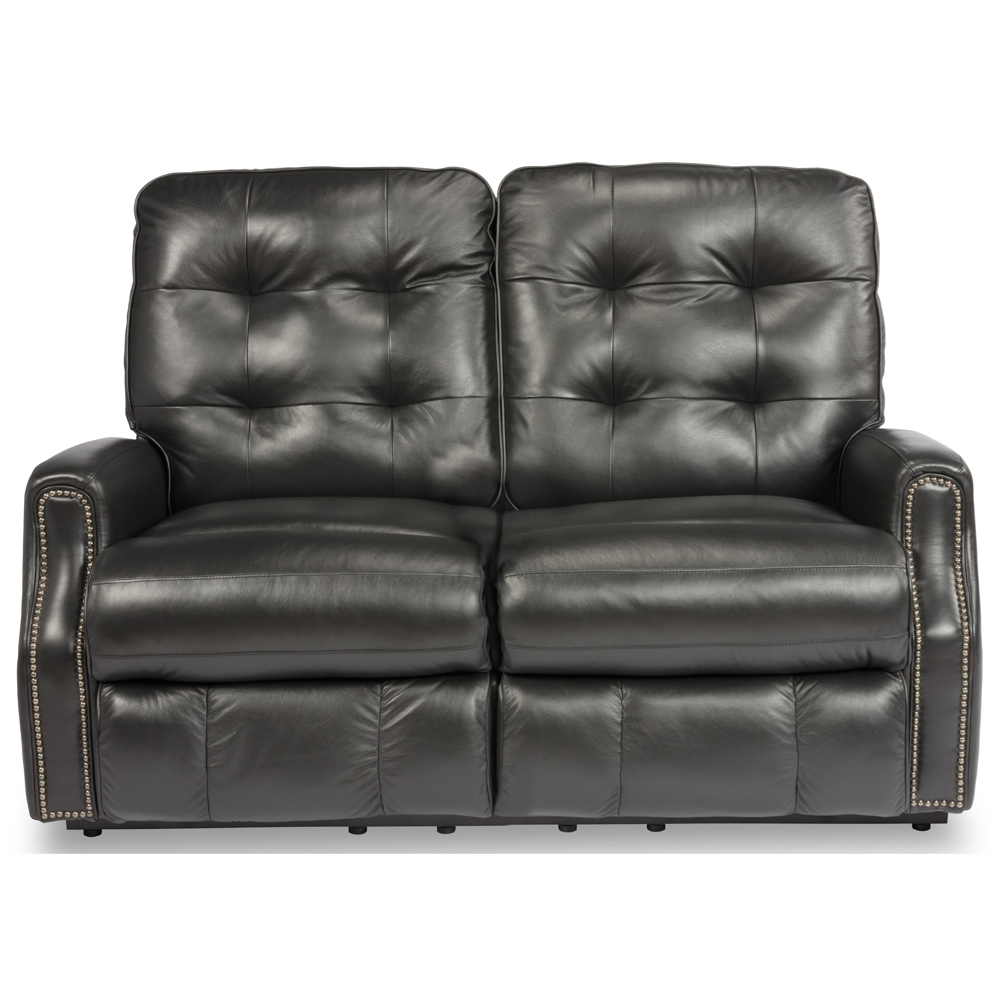 Devon Power Reclining Loveseat by Flexsteel at Rooms and Rest