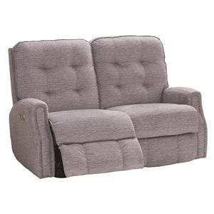 Power Reclining Loveseat With Power Headrests