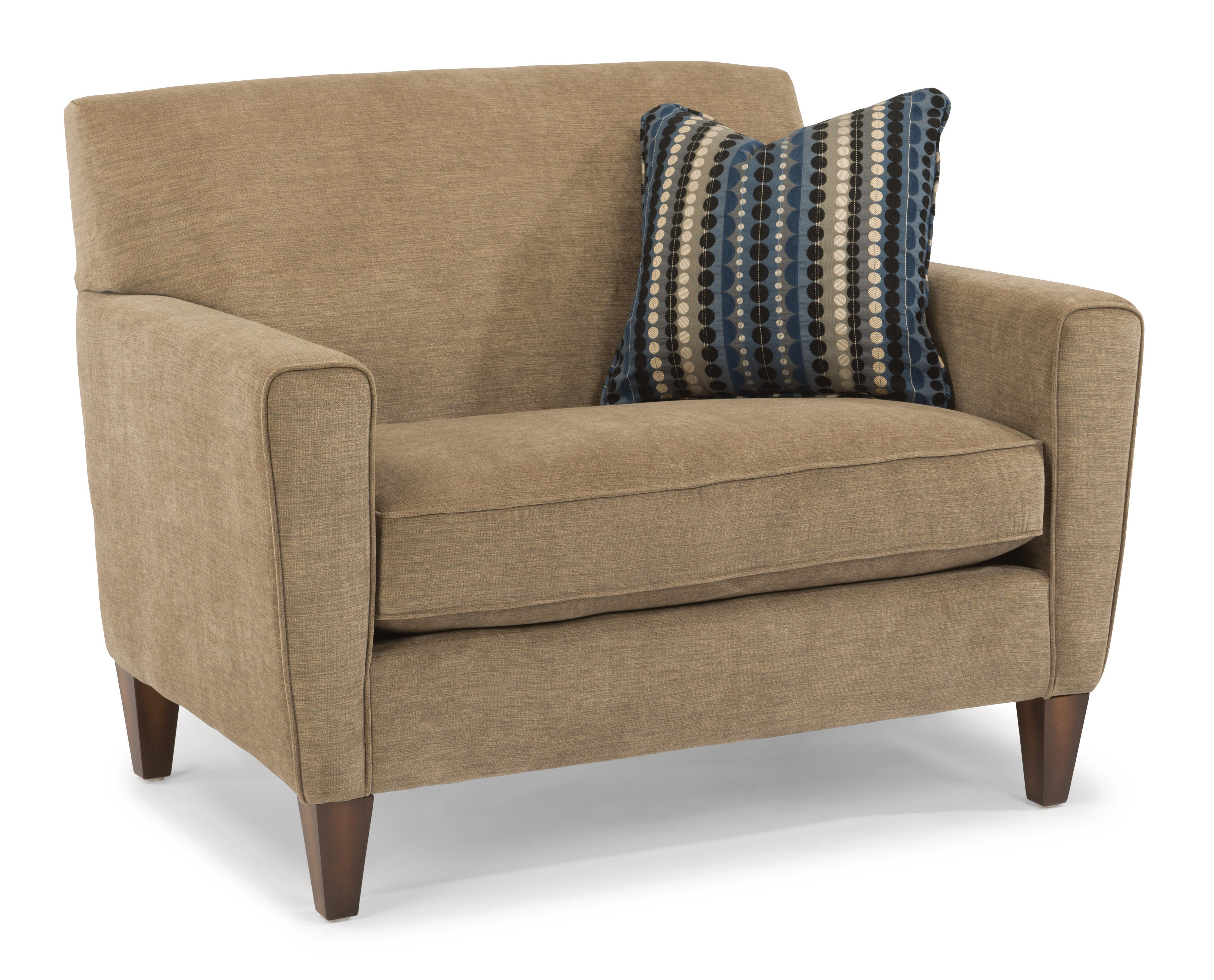 Digby Chair & 1/2 by Flexsteel at Rooms and Rest