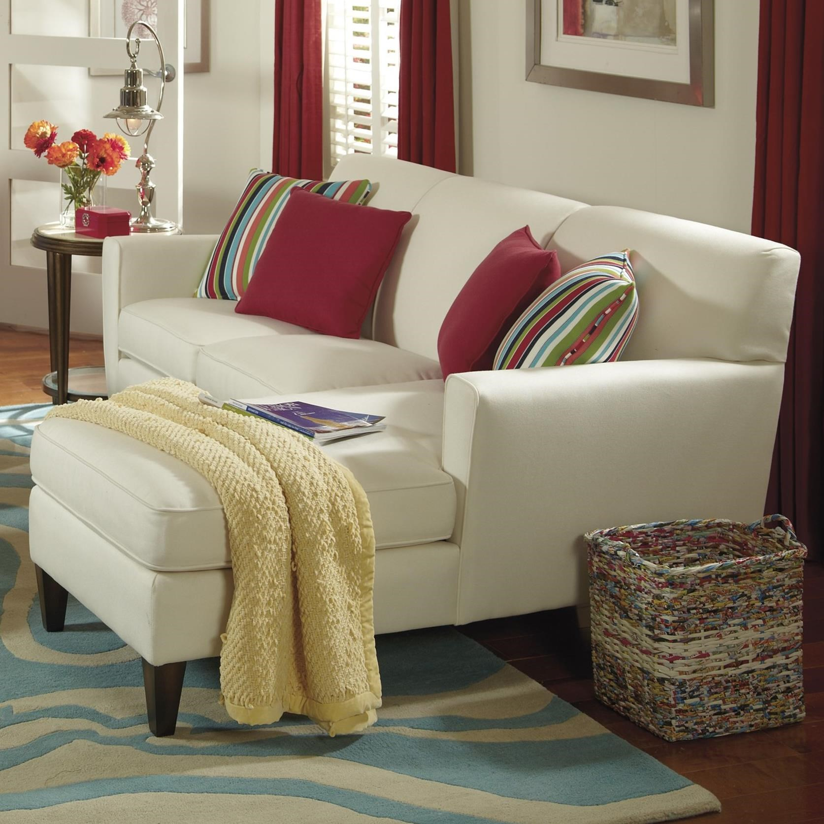 Digby Sectional Sofa by Flexsteel at Steger's Furniture