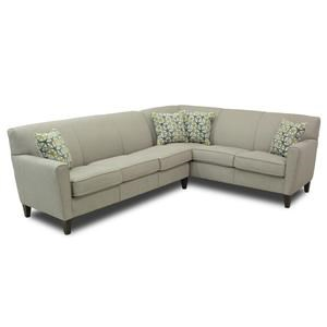 Contemporary 5 Seat L-Shaped Sectional