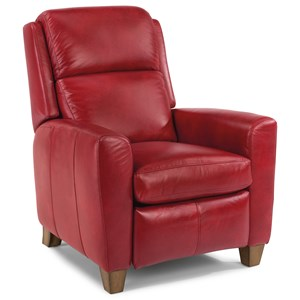 Contemporary Power High-Leg Recliner with USB Port