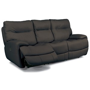 Power Reclining Sofa with Fold Down Middle Console