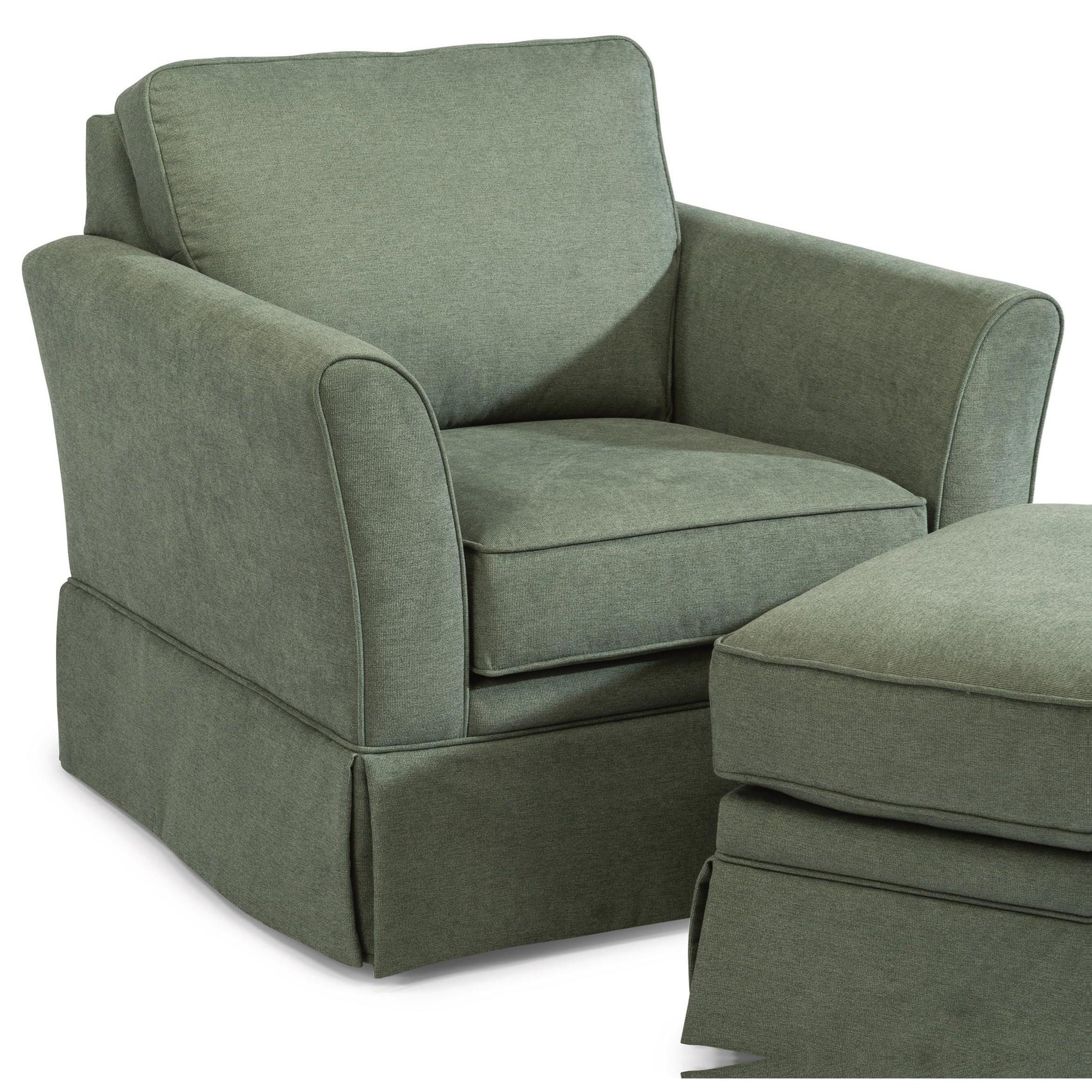 Fiona Chair  by Flexsteel at Jordan's Home Furnishings