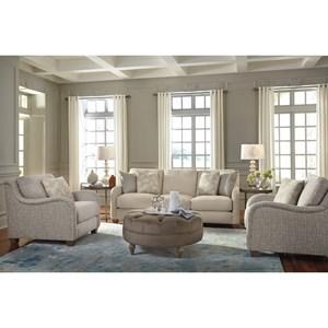 Flexsteel Fortuna Living Room Group