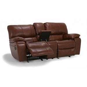 Flexsteel Latitudes - Grandview Double Power Reclining Loveseat