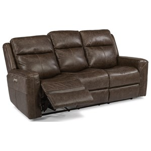 Power Reclining Sofa with Power Headrests and USB Ports