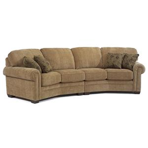 Flexsteel Harrison Conversation Sofa