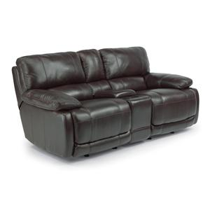 Flexsteel Hermosa Rocking Reclining Love Seat