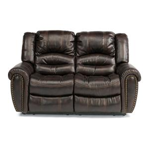 Flexsteel Latitudes - Hometown Dual Reclining Loveseat