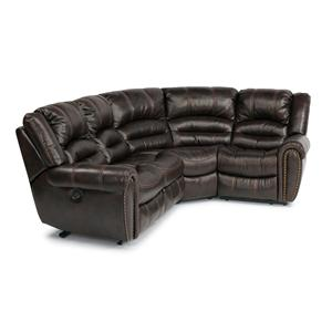 Flexsteel Latitudes - Hometown 5 Pc Reclining Sectional Sofa