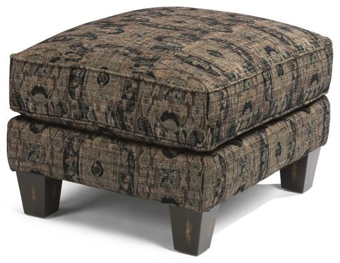 James Ottoman by Flexsteel at Crowley Furniture & Mattress