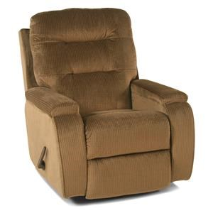 Casual Biscuit-Back Rocker / Recliner