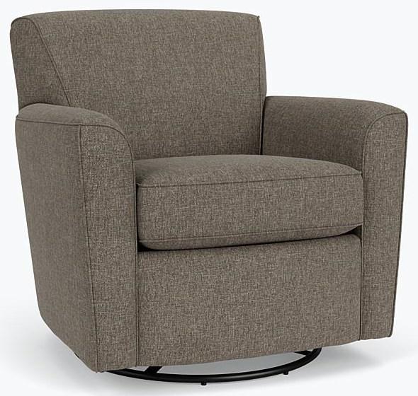 Newlin Swivel Glider Chair by Flexsteel at Crowley Furniture & Mattress