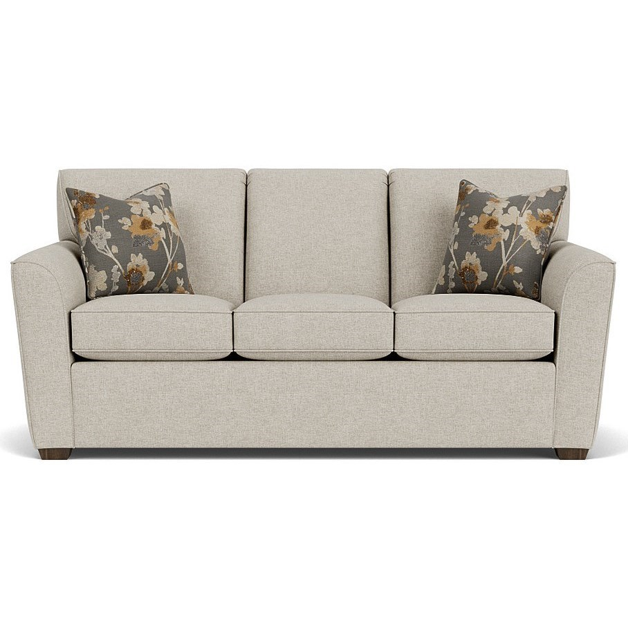 "Lakewood 78"" Sofa by Flexsteel at Williams & Kay"