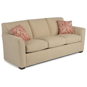 Queen Sleeper Sofa with Flair Tapered Arms