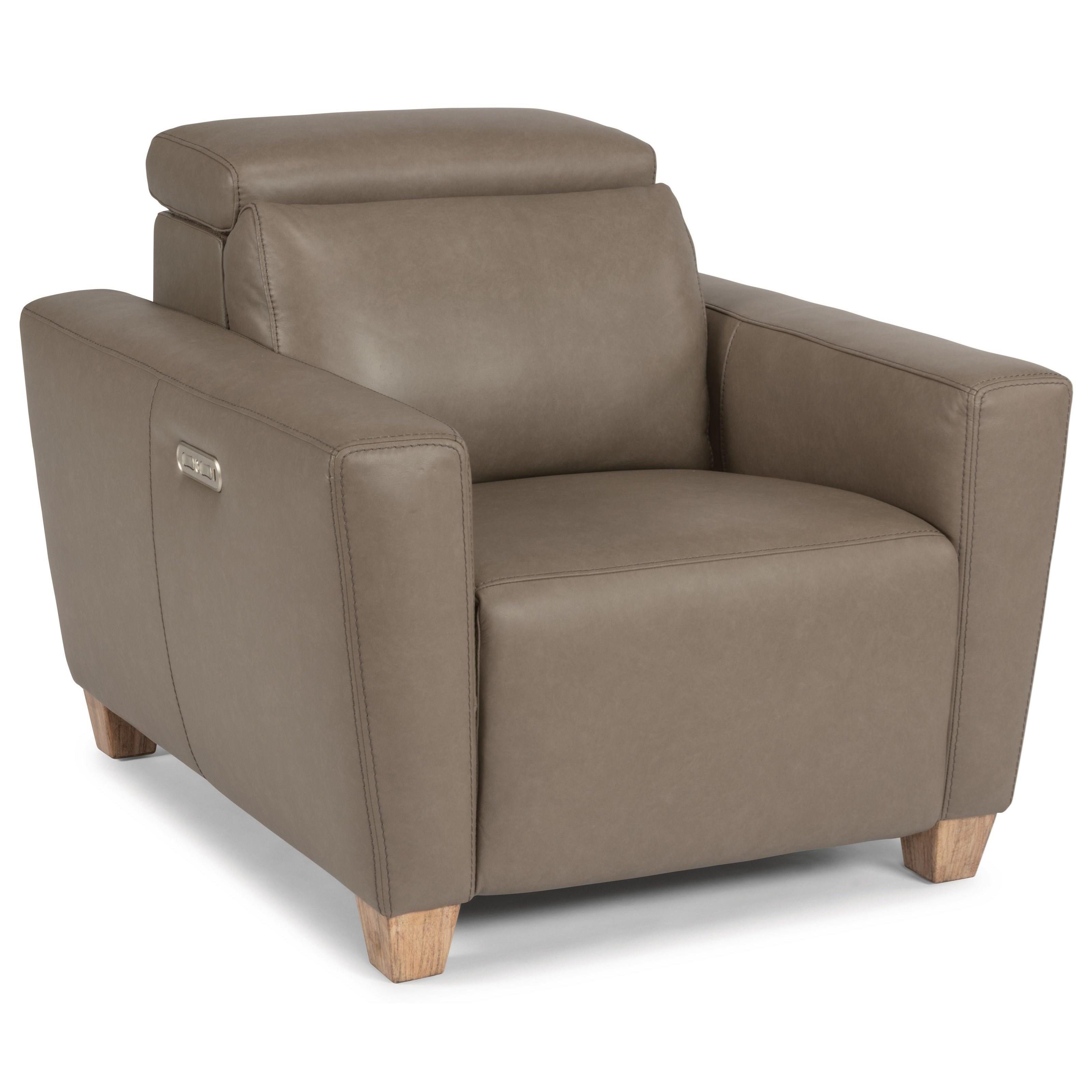 Latitudes - Astra Power Recliner w/ Pwr Headrest by Flexsteel at Walker's Furniture
