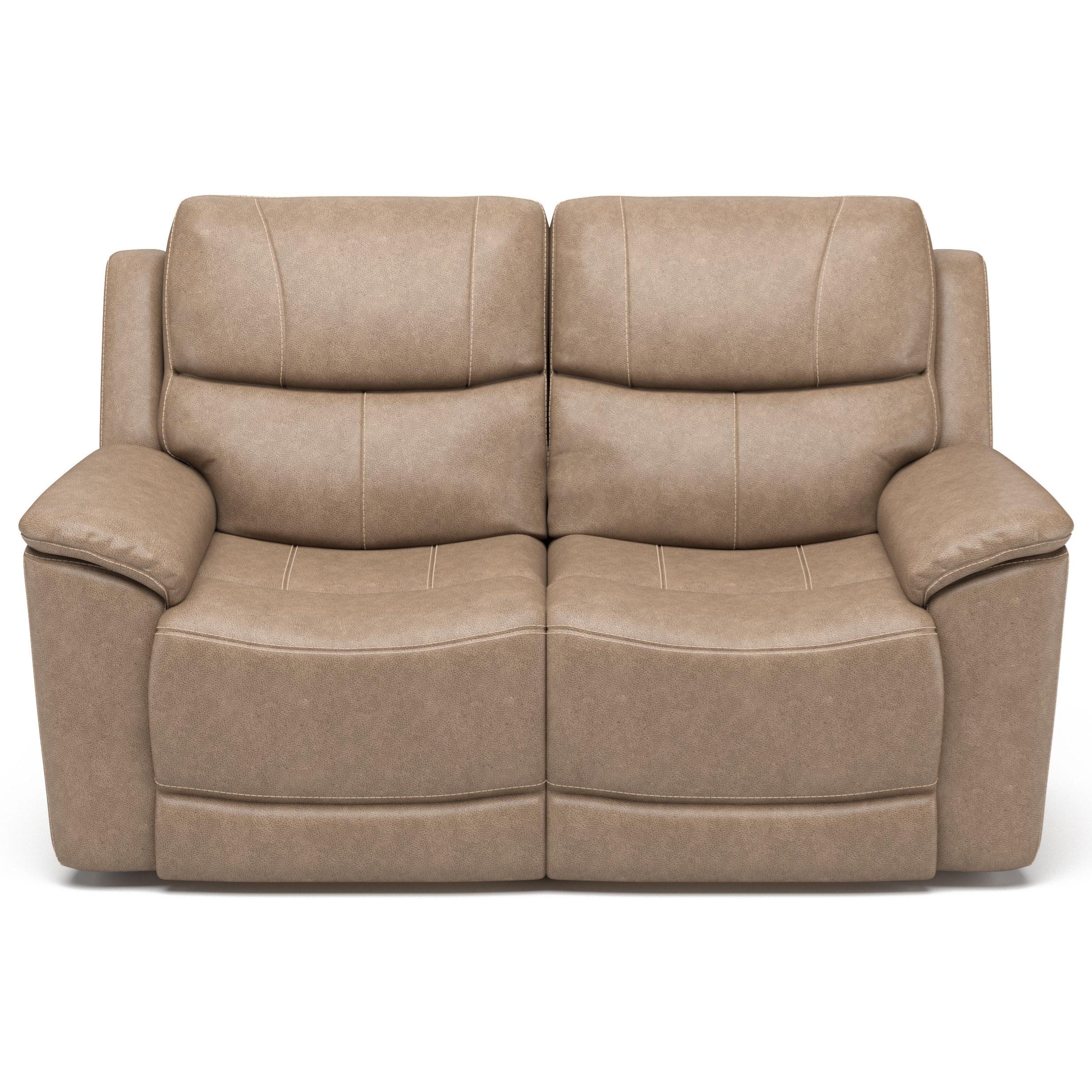 Latitudes - Cade Power Reclining Love Seat by Flexsteel at Walker's Furniture