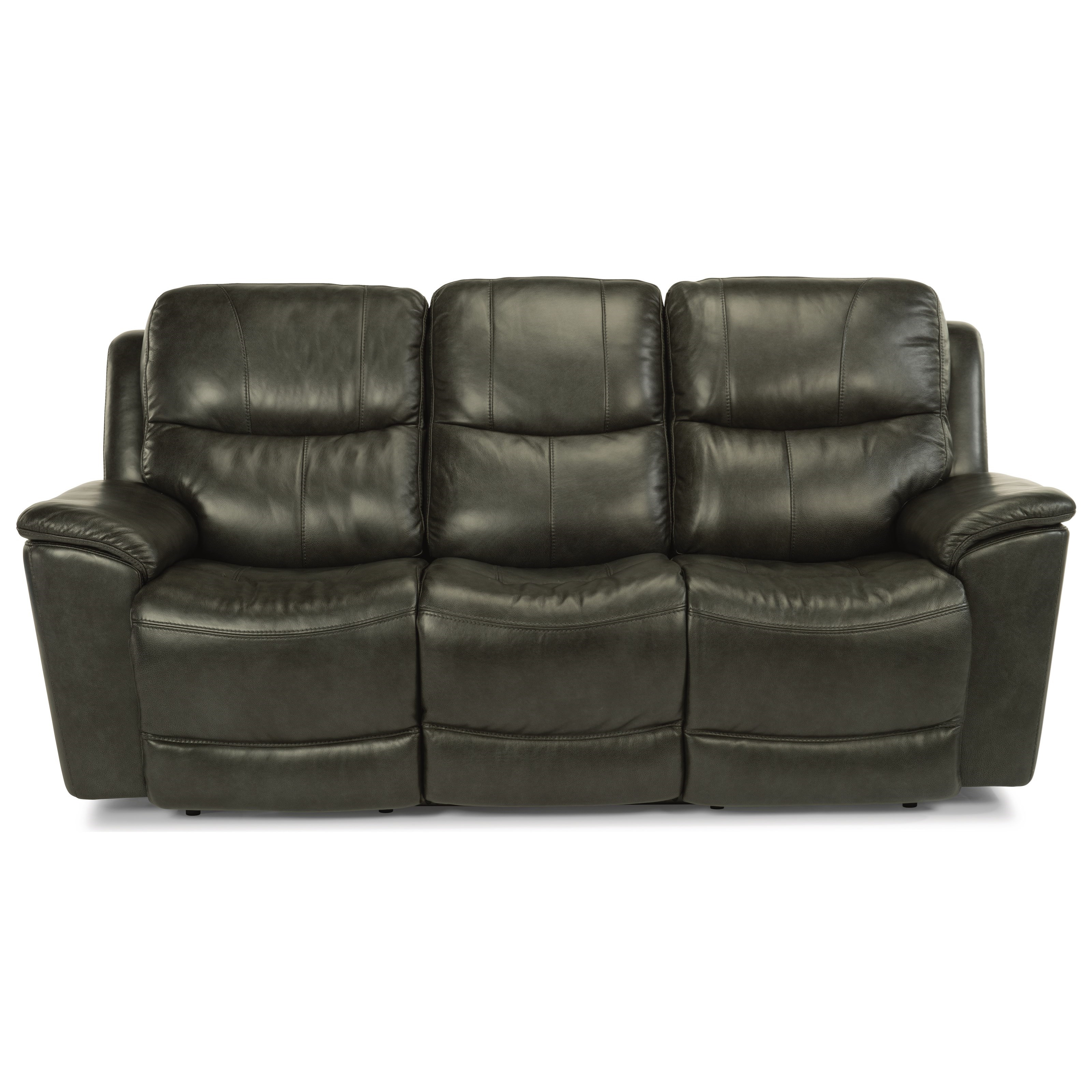 Latitudes - Cade Power Reclining Sofa by Flexsteel at Walker's Furniture