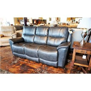 Power Reclining Lay-Flat Sofa with Power Headrests and Lumbar