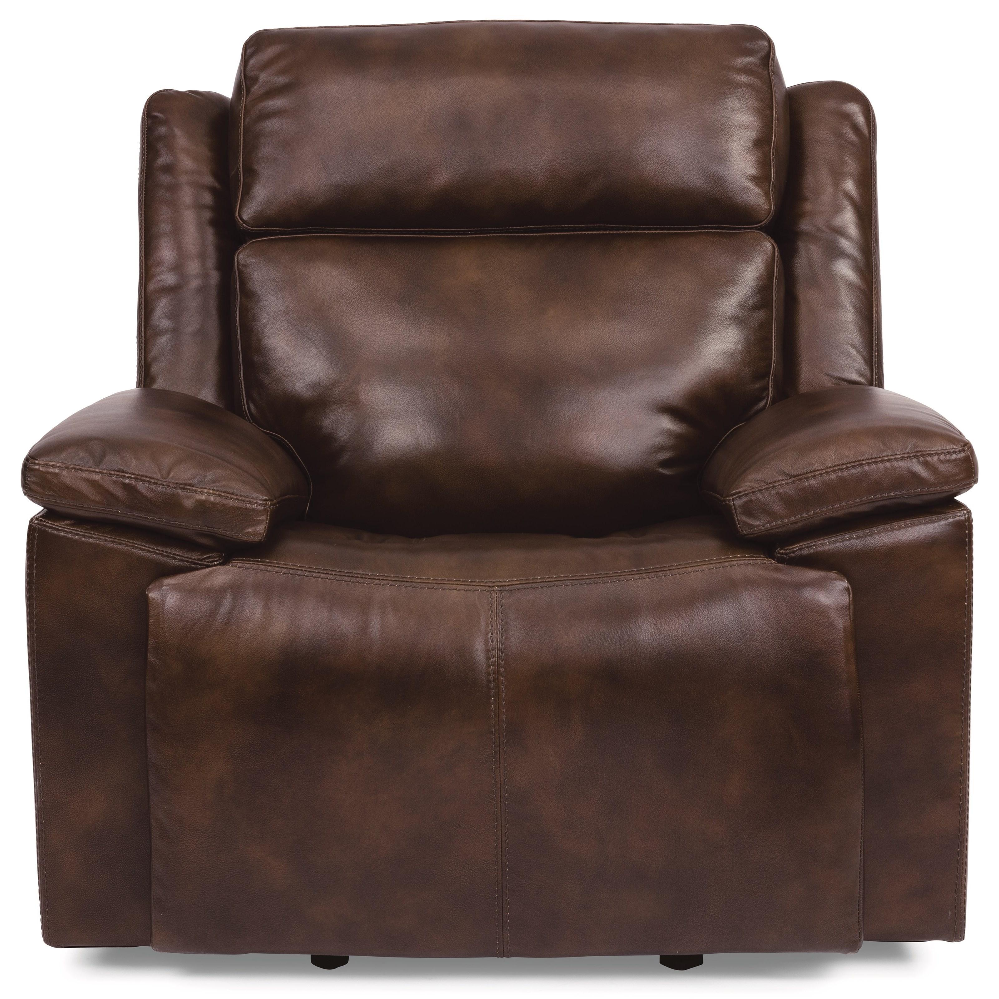 Latitudes - Chance Pwr Gliding Recl w/ Pwr Headrest by Flexsteel at Walker's Furniture