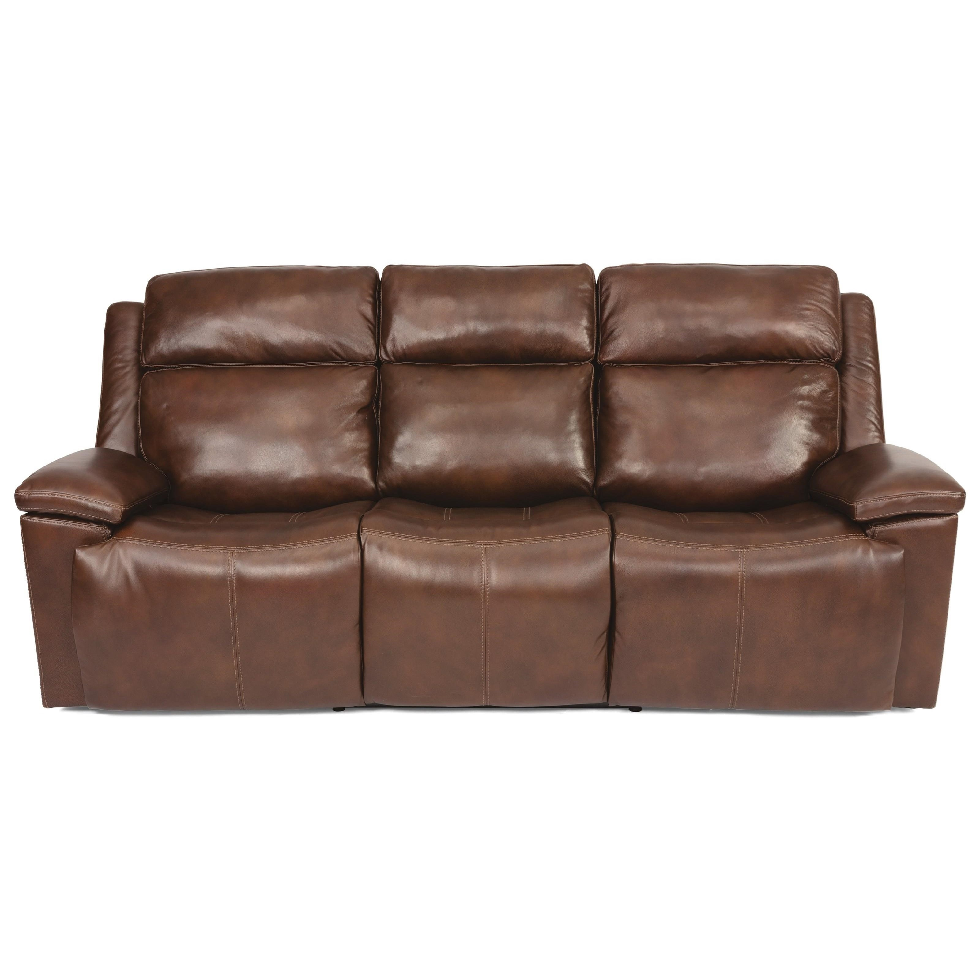 Latitudes - Chance Power Rcl Sofa w/ Pwr Headrest by Flexsteel at Walker's Furniture