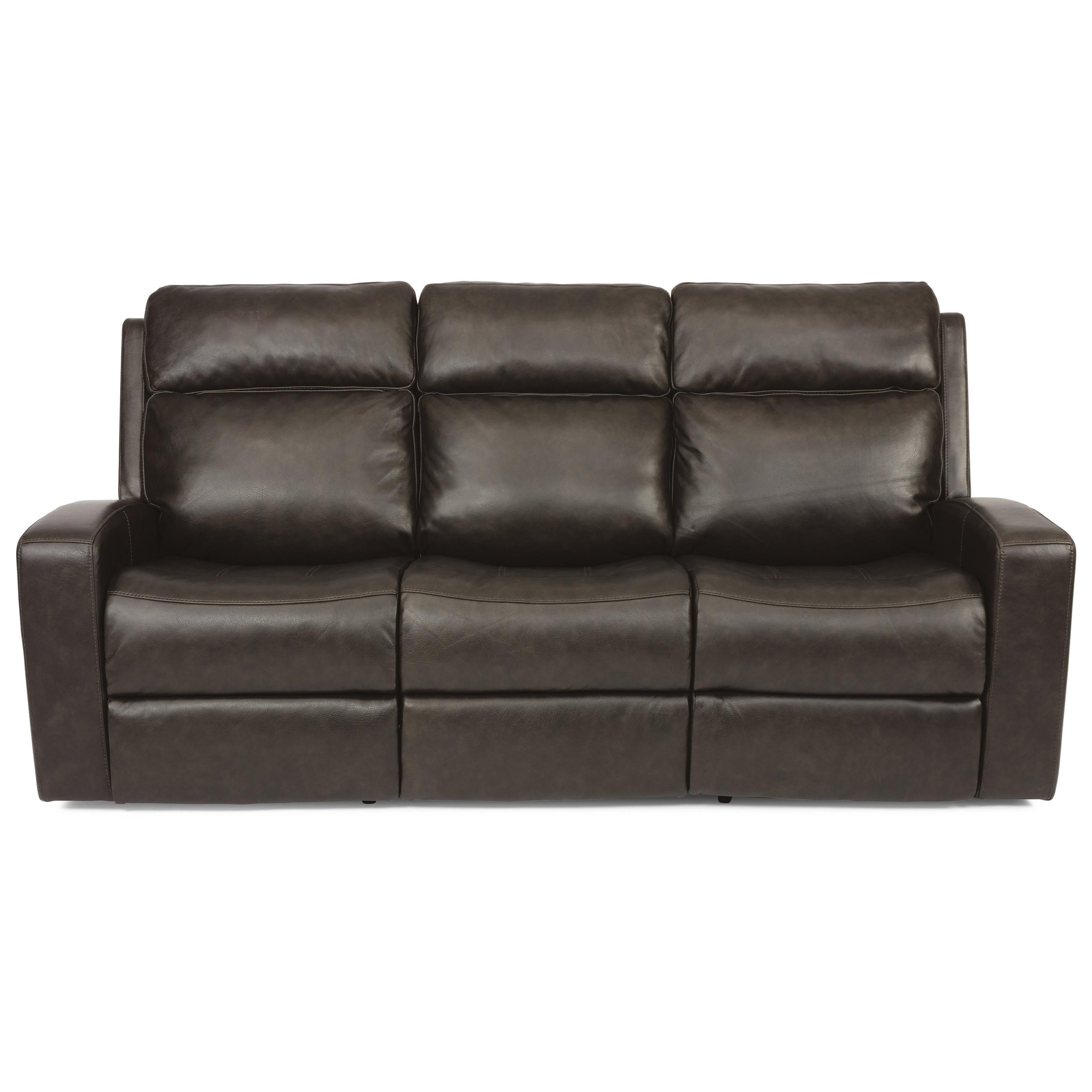 Latitudes - Cody Power Reclining Sofa by Flexsteel at Steger's Furniture